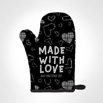Twisted Wares Twisted Wares Made with Love Potholder Mitt