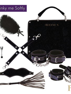Rianne S Rianne Kinky Me Softly Bondage Kit, Black