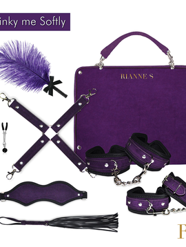Rianne S Rianne Kinky Me Softly Bondage Kit, Purple