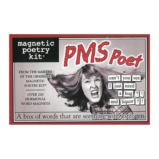 Magnetic Poetry Kit - PMS Poet