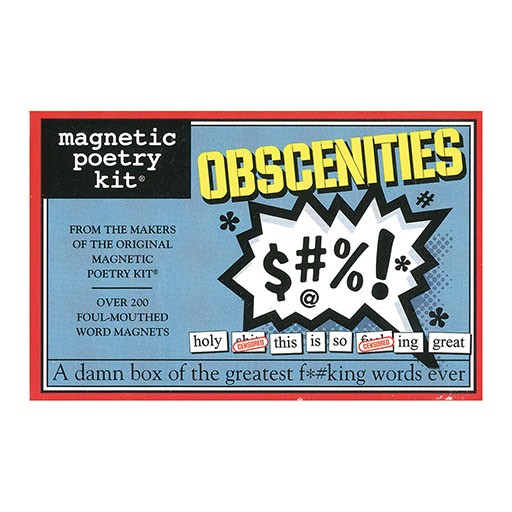 Magnetic Poetry Kit - Obscenities