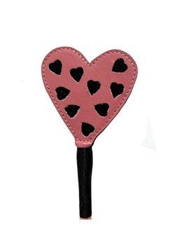 Ruff Doggie Styles Ruff Doggie Styles Crop Heart Pink/Black