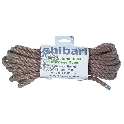 Shibari Shibari Hemp Bondage Rope - 10 Meters