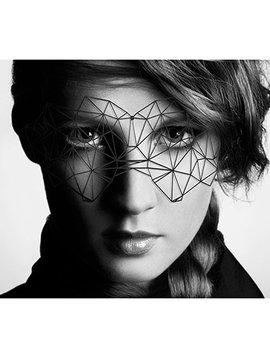 Bijoux Indiscrets Bijoux Indiscrets Decal Eyemask - Kristine