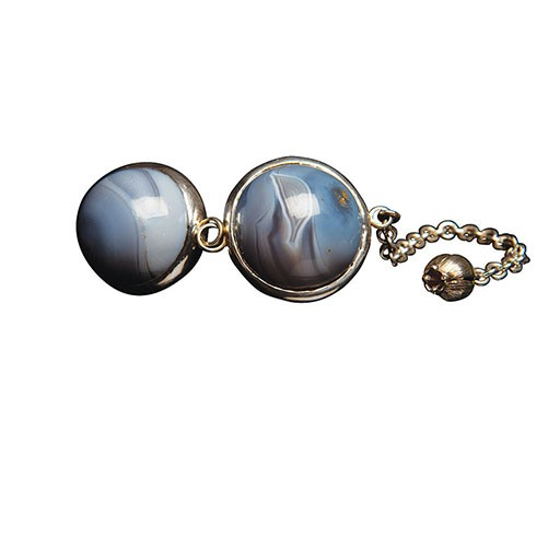 Luz de la Riva Luz de la Riva Maleva & Malonga Chinese Balls - Agate Stone
