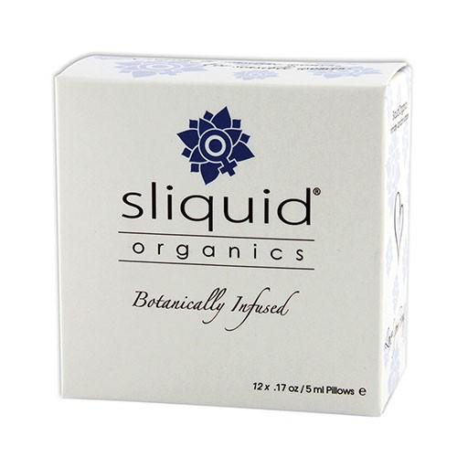 Sliquid Sliquid Organics Lube Cube 12-PK