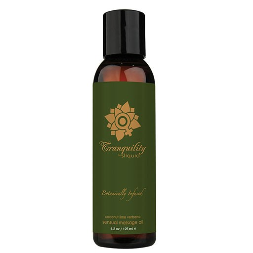 Sliquid Sliquid Organics Sensual Massage Oil - Rejuvenation 4.2oz