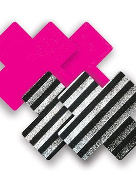 Bristols 6 Bristols 6 Nippies - Sex Pistol Cross (Pink/Blk/Wht) A/B