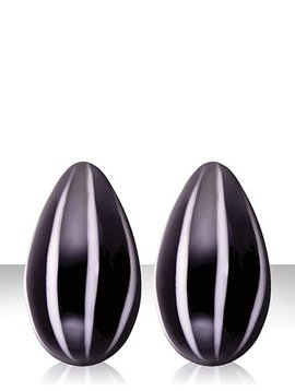 NS Novelties NSNovelties Crystal Premium Eggs - Black & White