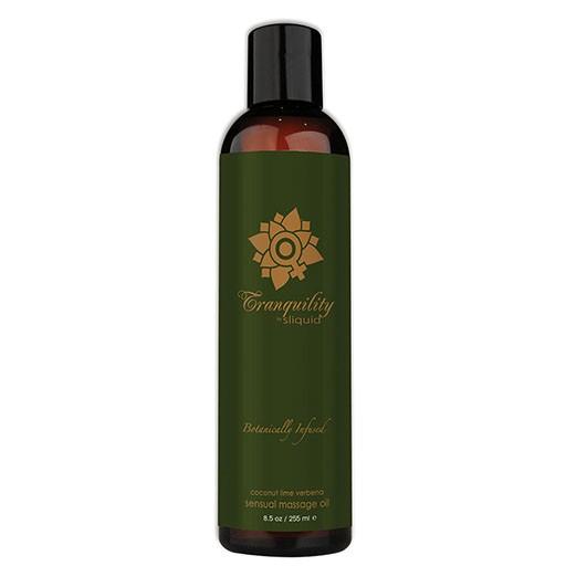 Sliquid Sliquid Organics Sensual Massage Oil - Tranquility 8.5oz