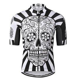 Quick Dry Black Skull  Jersey Size M
