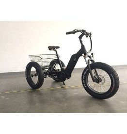 Pcific  Ebike Jazz  Fat tire E- Trike (black)