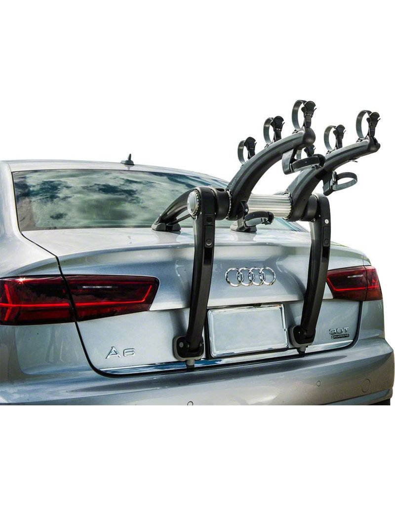 Saris Superbones Trunk Rack: 3 Bike, Black Rack