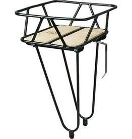 Minoura Gamoh King Carrier Front Basket: Junior, Black