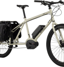 Surley Big Easy Cargo ebike - Tan Cargo Shorts