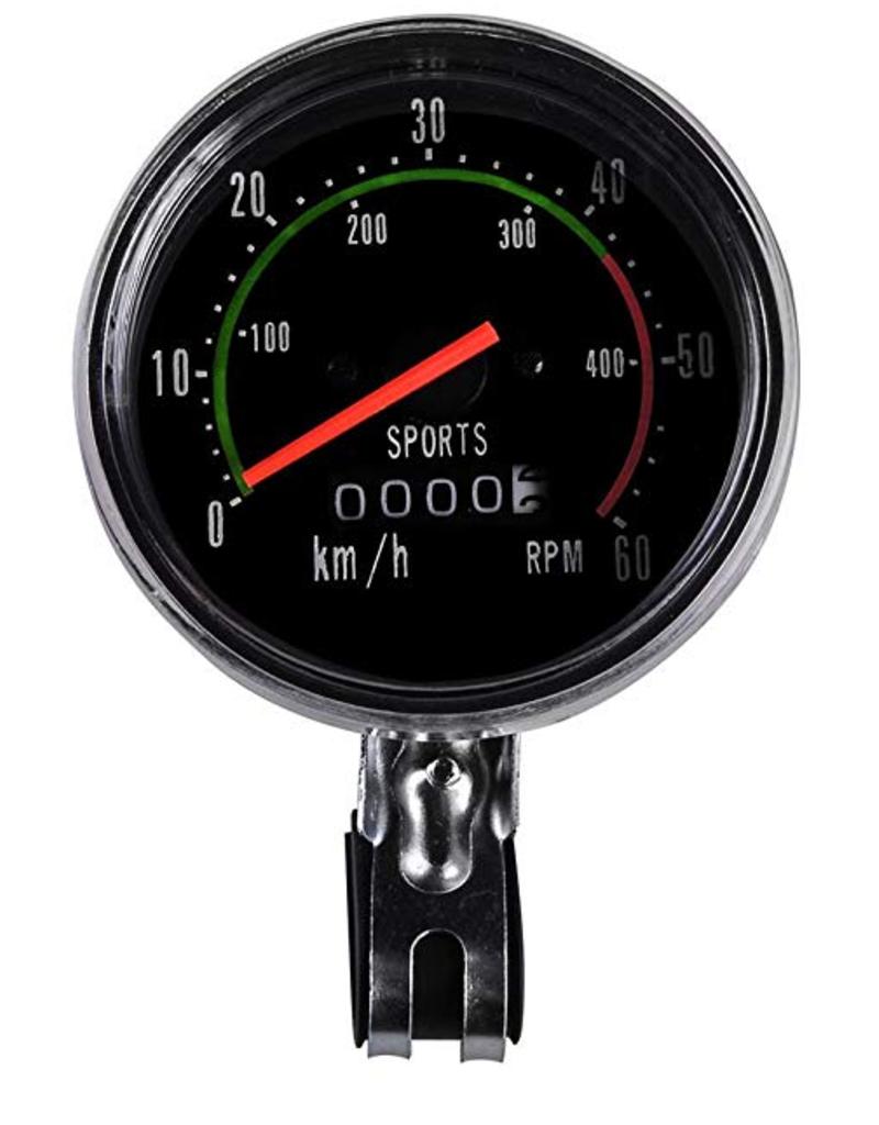 Classic RPM Bicycle Speedometer