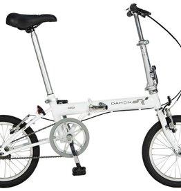 """Dahon Pop Uno 16"""" Folding Bike, Frost"""