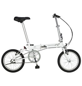 "Dahon Pop Uno 16"" Folding Bike, Frost"