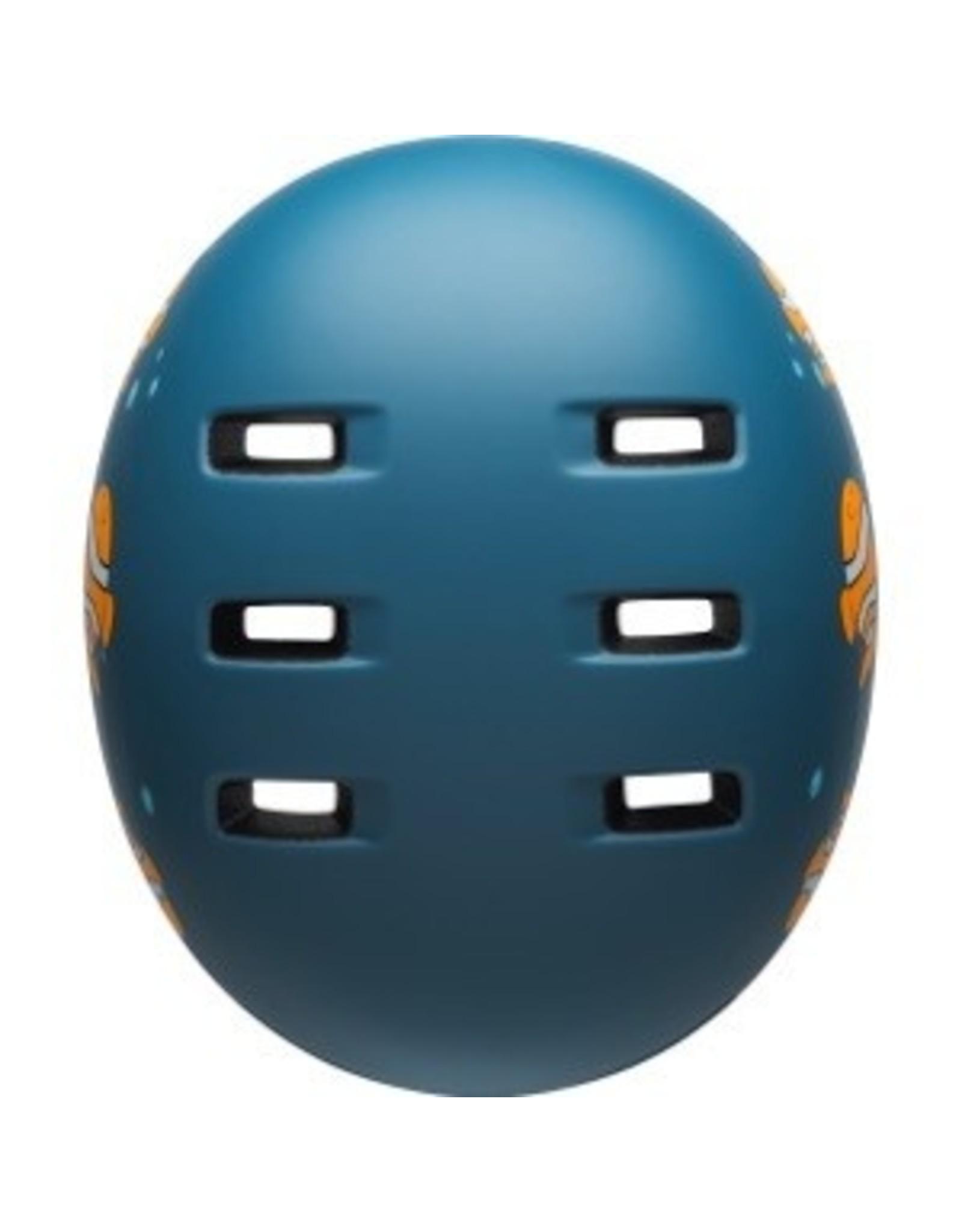 Bell Lil Ripper Youth Bike Helmet - Clown Fish Matte Grey-Blue - UC (47-54 cm)