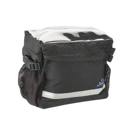 Jandd Touring 1 Handlebar Bag: Black