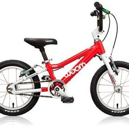 "Woom Bikes WOOM 2 Bike 14 inch 13lb Age: 3 - 4.5 years Height: 37"" - 43"""