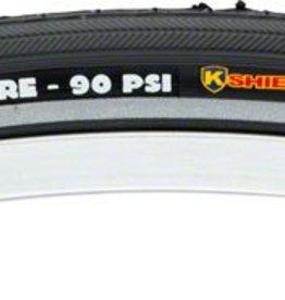 """Kenda K35 Street Tire with K-Shield: 27"""" x 1 1/4"""", Steel Bead, Black"""