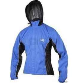 O2 Primary Rain Jacket with Hood: Royal Blue ~LG