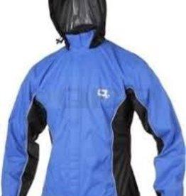O2 Primary Rain Jacket with Hood: Royal Blue~ SM