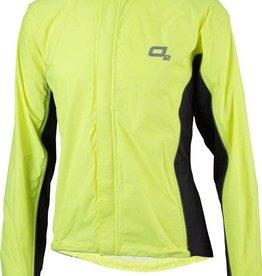 O2 Primary Rain Jacket with Hood: Hi-Vis Yellow~ LG