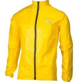 O2 Cycling Rain Jacket: Yellow SM