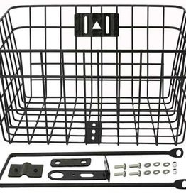 107950	Steel Wire Basket W/Braces 333D White.