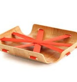 Bent Basket (Salmon Red)