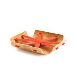 Bent Basket (Salmon Red)
