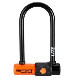 Kryptonite Krypto Evo LITE Mini-6 U Lock 2.75 x 5.9""