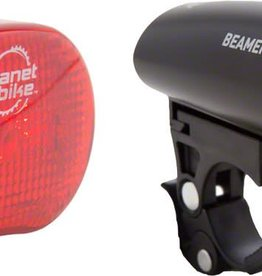 Planet Bike Beamer 1 Headlight and Blinky 3 Taillight, Set