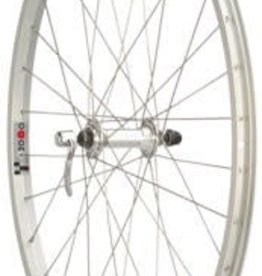 "Quality Wheels Value Series 1 Mountain Front Wheel 26"" Formula / Alex Y2000 Silver"