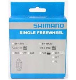 "Shimano Shimano MX30 18t Freewheel for 1/2"" x 3/32"" Chain"