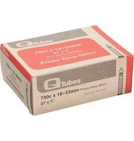 Q-Tubes 700c x 18-23mm 48mm Presta Valve Tube 101g