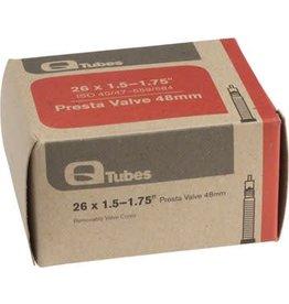 Q-Tubes 26 x 1.5-1.75 48mm Presta Valve Tube