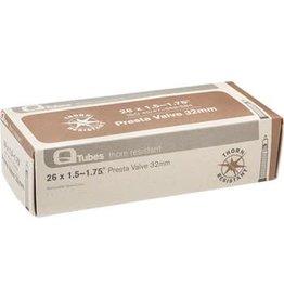 """Q-Tubes Thorn Resistant 26"""" x 1.5-1.75 32mm Presta Valve Tube 468g"""