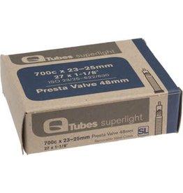 Q-Tubes Superlight 700c x 23-25mm 48mm Presta Valve Tube