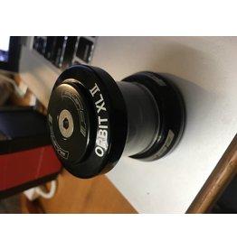 """FSA Orbit XL-II 1-1/8"""" Threadless Headset, Black"""