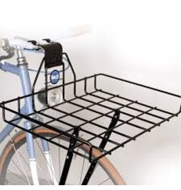 Wald 257 Ewald's Multi-Fit Front Rack: Gloss Black