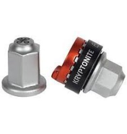 Kryptonite Kryptonite Security Wheelnutz Solid Axle Locking Nuts: Size M9