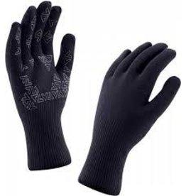 SealSkinz Seal Skinz Ultra Grip Waterproof Glove: Black, LG