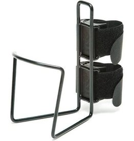 TwoFish TwoFish QuickCage 40oz Water Bottle Cage: Vinyl Coated Black, No Bottle Included