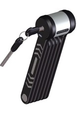 Kryptonite Kryptonite KryptoLok 610 Foldable Lock: Black, 100cm, 5mm