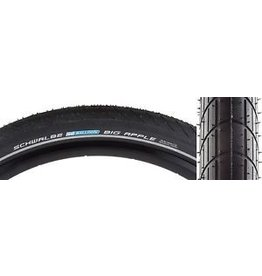 TIRES SCHWALBE BIG APPLE RACEGUARD 20x2.15 BK/SK/REF WIRE