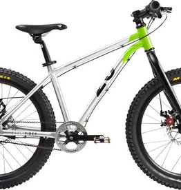 "Early Rider Early Rider Belter Trail 3 Complete Bike: 20"" Wheel, Silver/Lime"