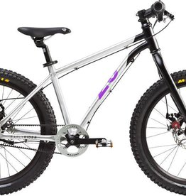 "Early Rider Early Rider Belter Trail 3 Complete Bike: 20"" Wheel, Silver/Black/Purple"